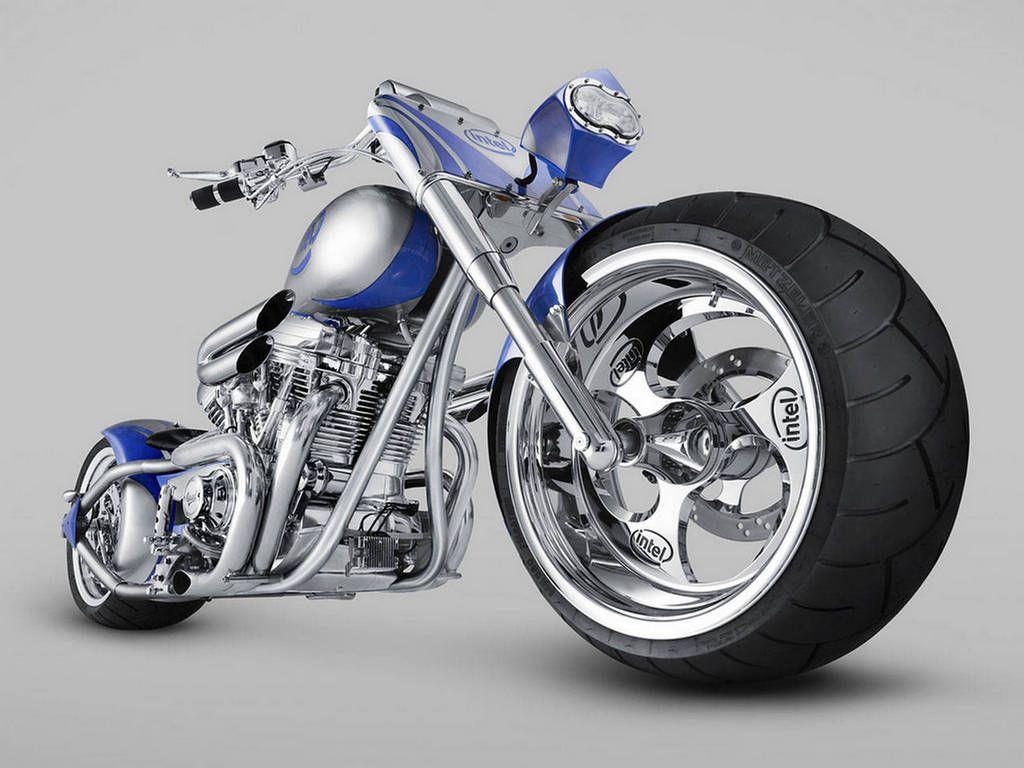 Cool Blue Chopper Bike Wallpapers Http 69hdwallpapers Com Cool