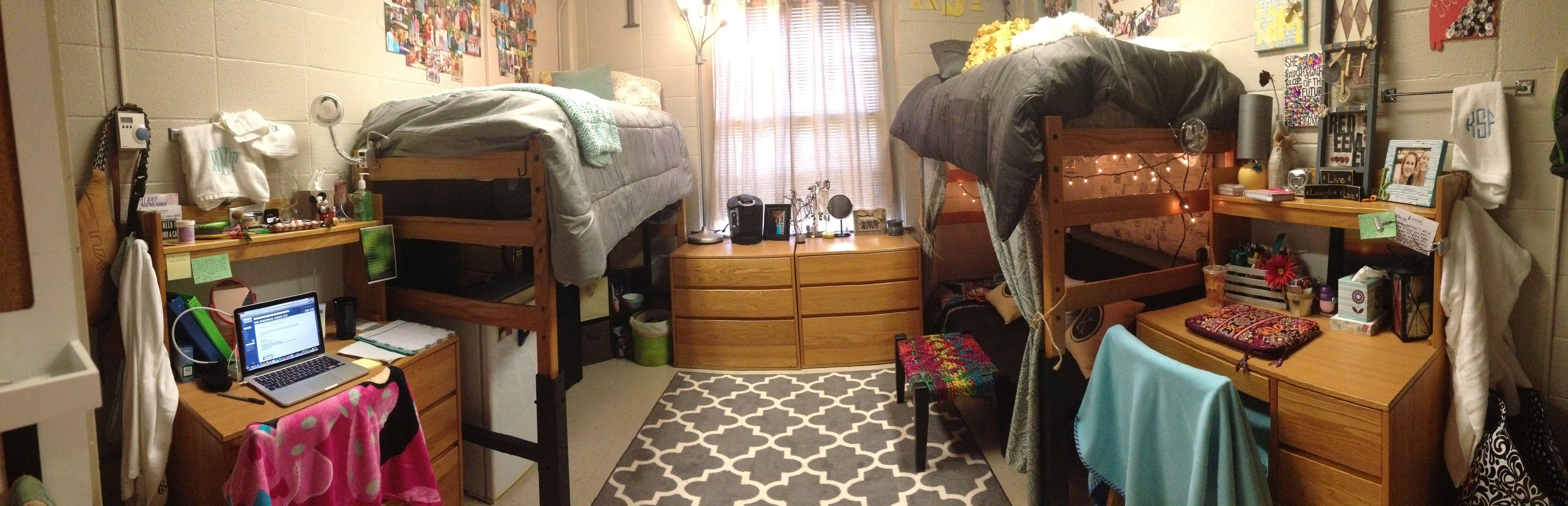 Samford University Vail Dorm Room Layout