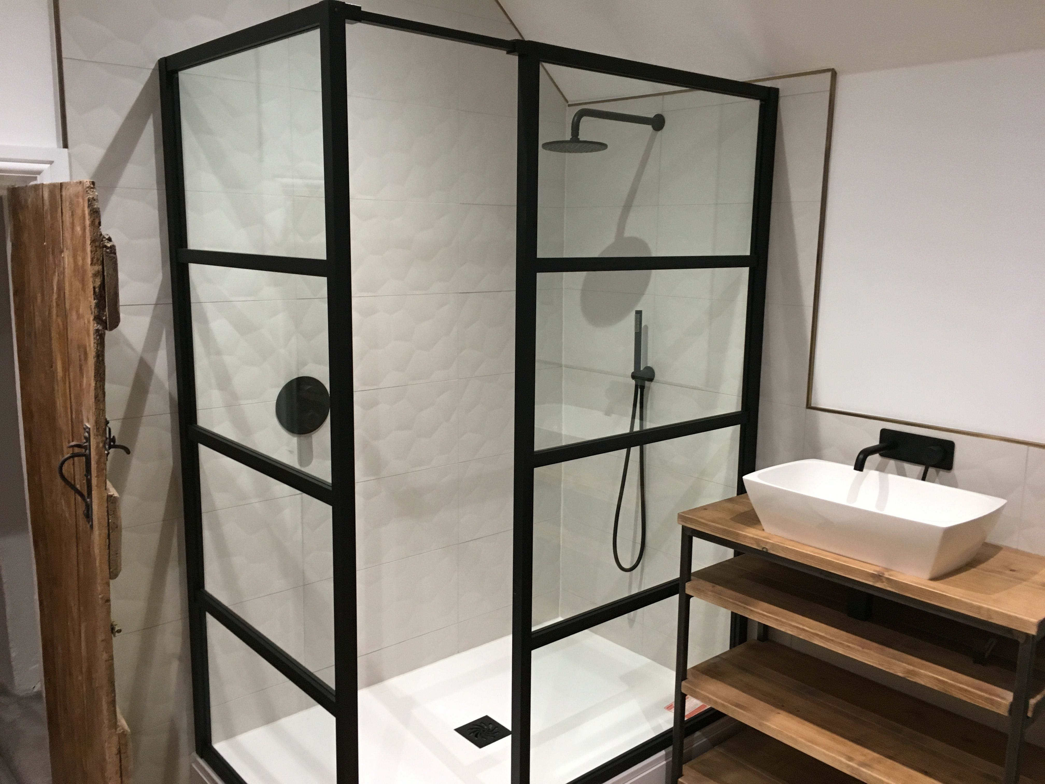 Industrial Bathroom Vanity Unit Washstand Bespoke Bathroom Furniture Basin Unit In 2020 Bespoke Bathroom Industrial Bathroom Vanity Industrial Bathroom
