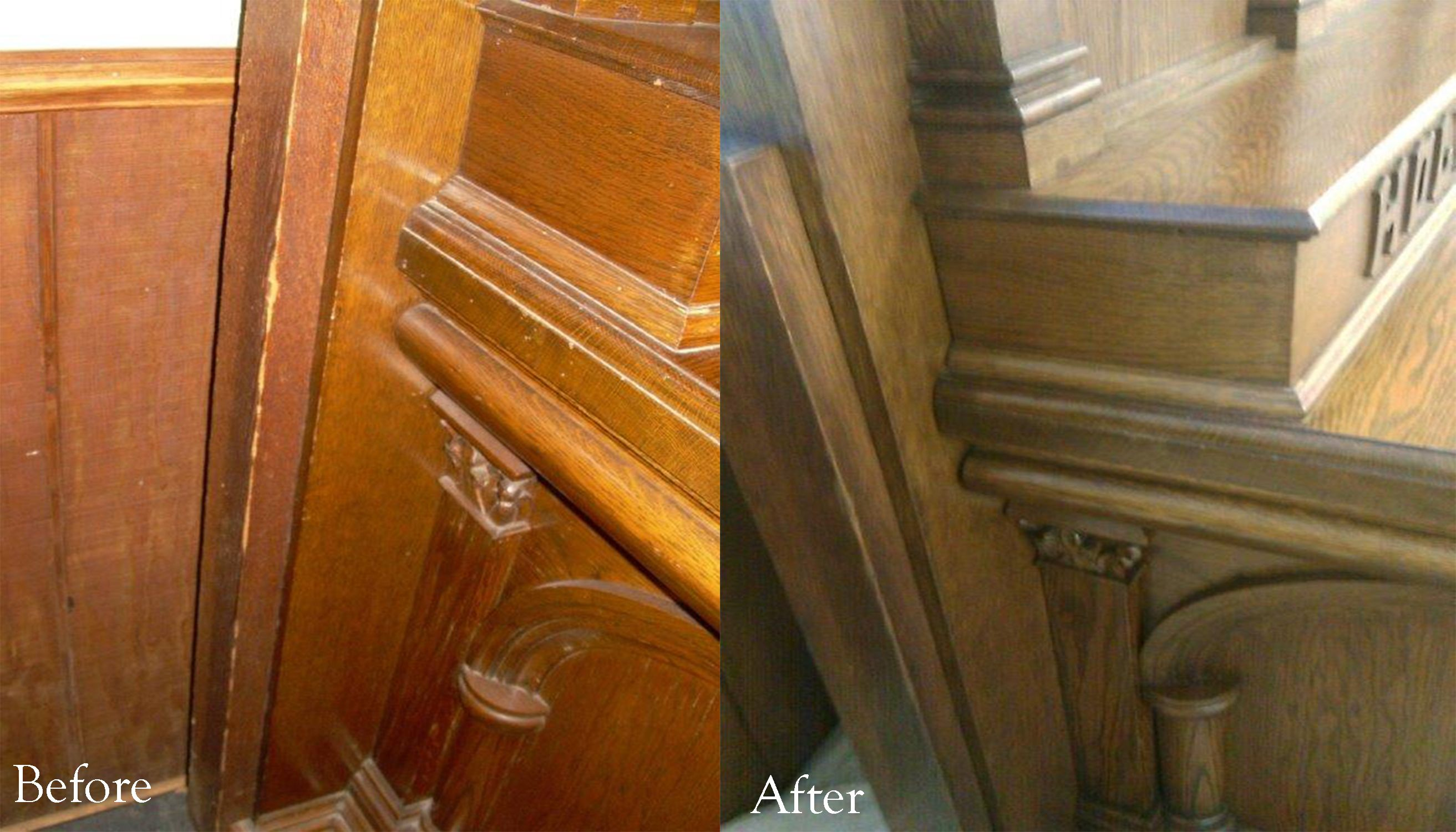 Before And After Photos From The Good Shepherd In Pearl River, NY. Work By