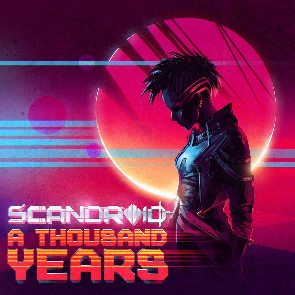 Scandroid - A Thousand Years (Single)