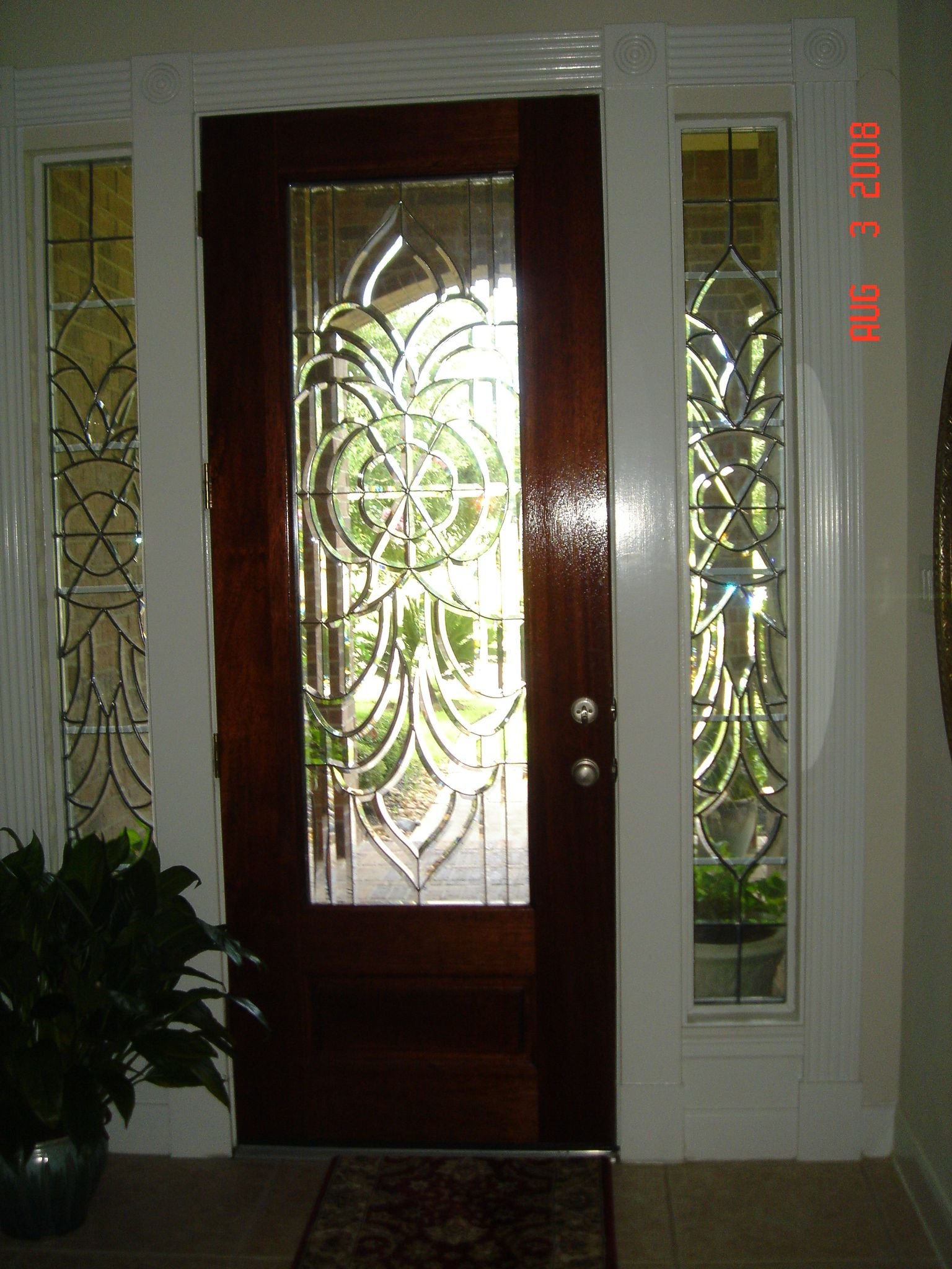 Leaded Beveled Glass Entry Door   Google Search