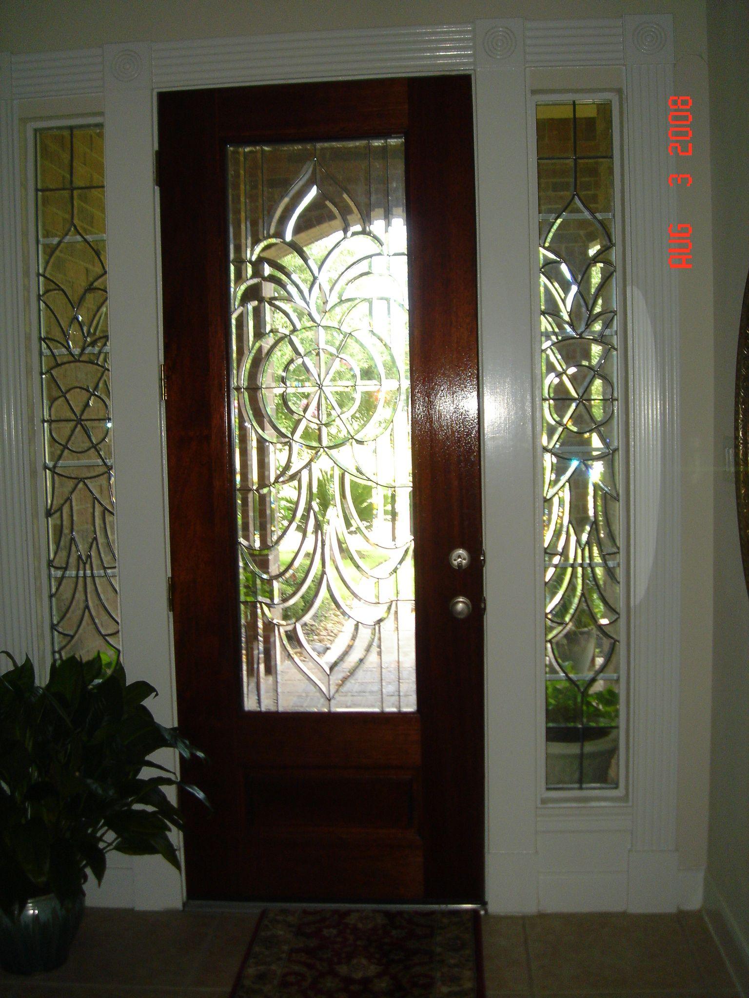 leaded beveled glass entry door - Google Search | doors ...