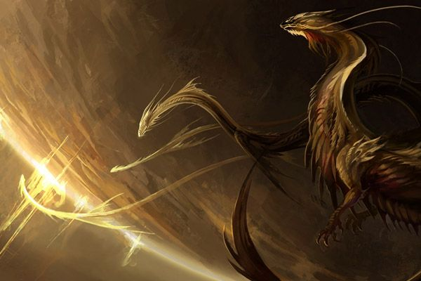 Sun Guards    or Thieves? (Dragon from outer space by
