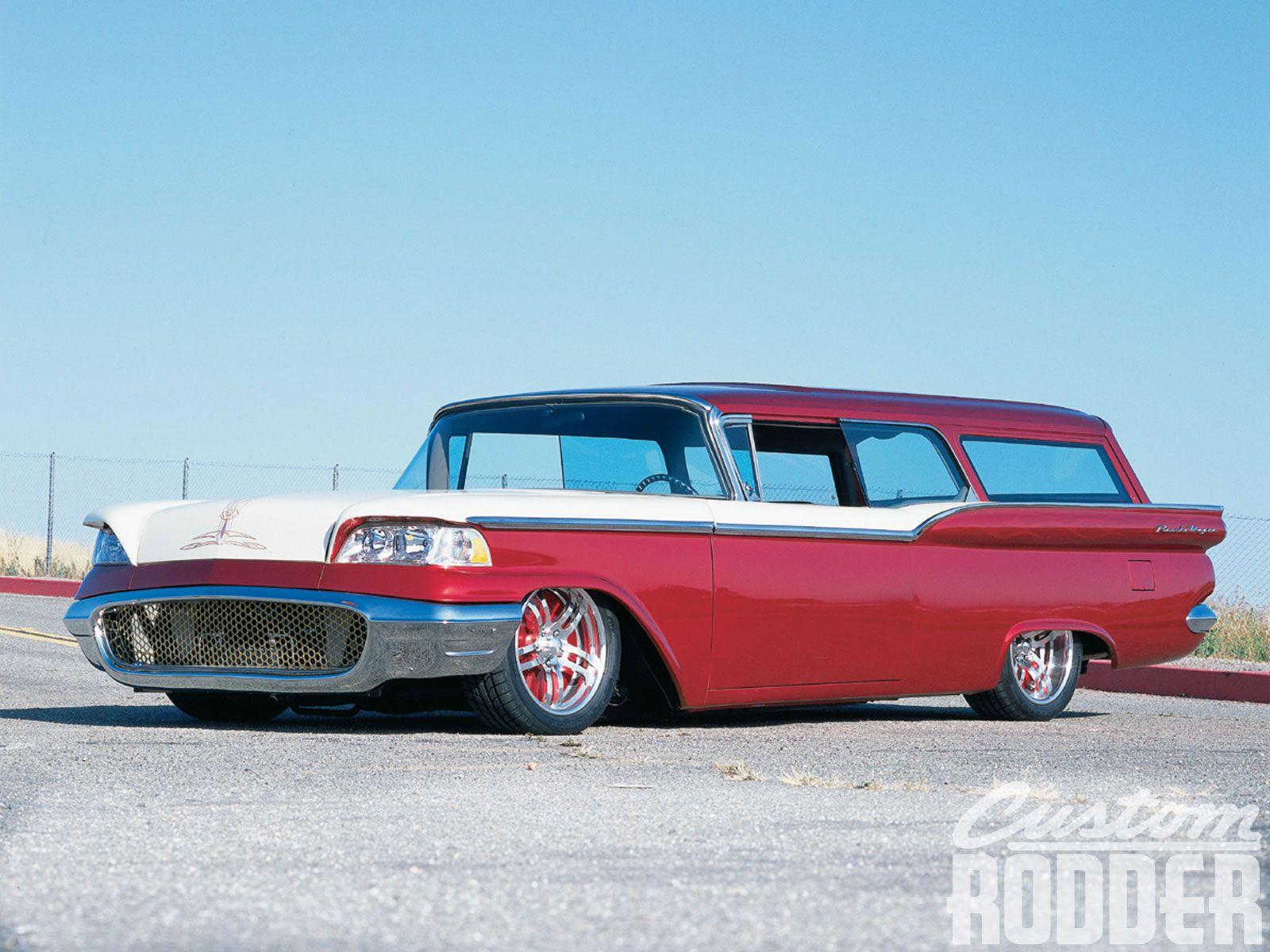 1950 ford custom station wagon 1959 Ford Ranch Wagon