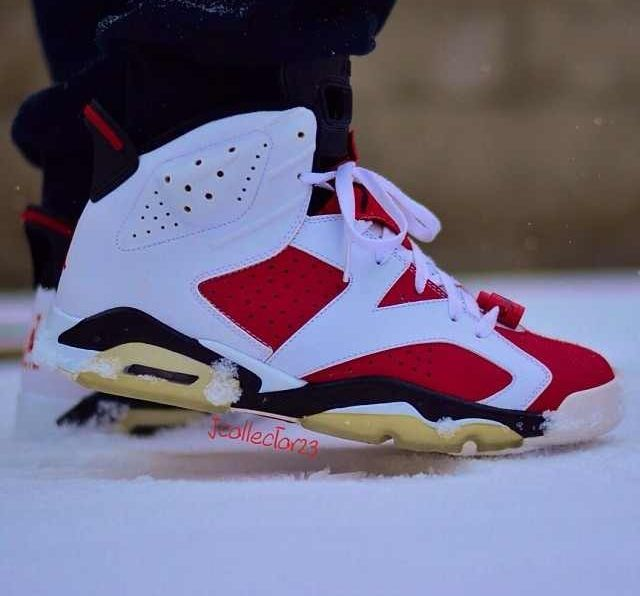 the best attitude 5b35a 23aa4 Carmine sixes in the snow! | JORDANS | Sneakers nike ...