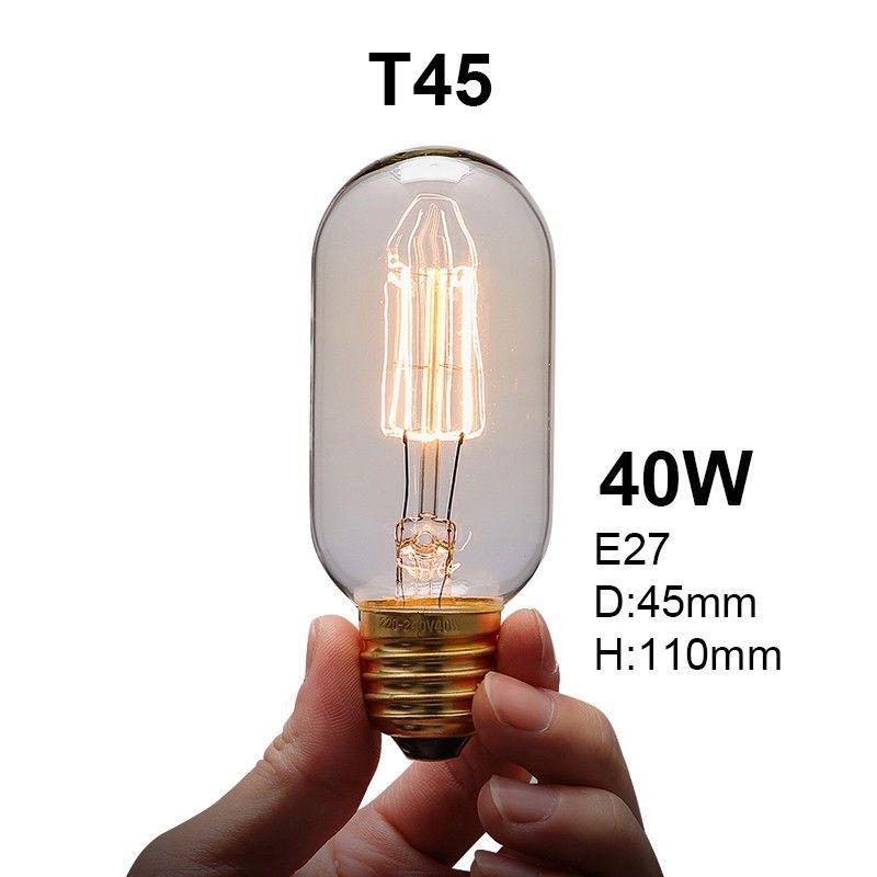 Vintage Industrial Retro Edison Led Bulb Light Lamp E27 220v Home Decor 40w Edison Led Bulb Jewellery Storage Vintage Industrial Edison Light Bulbs