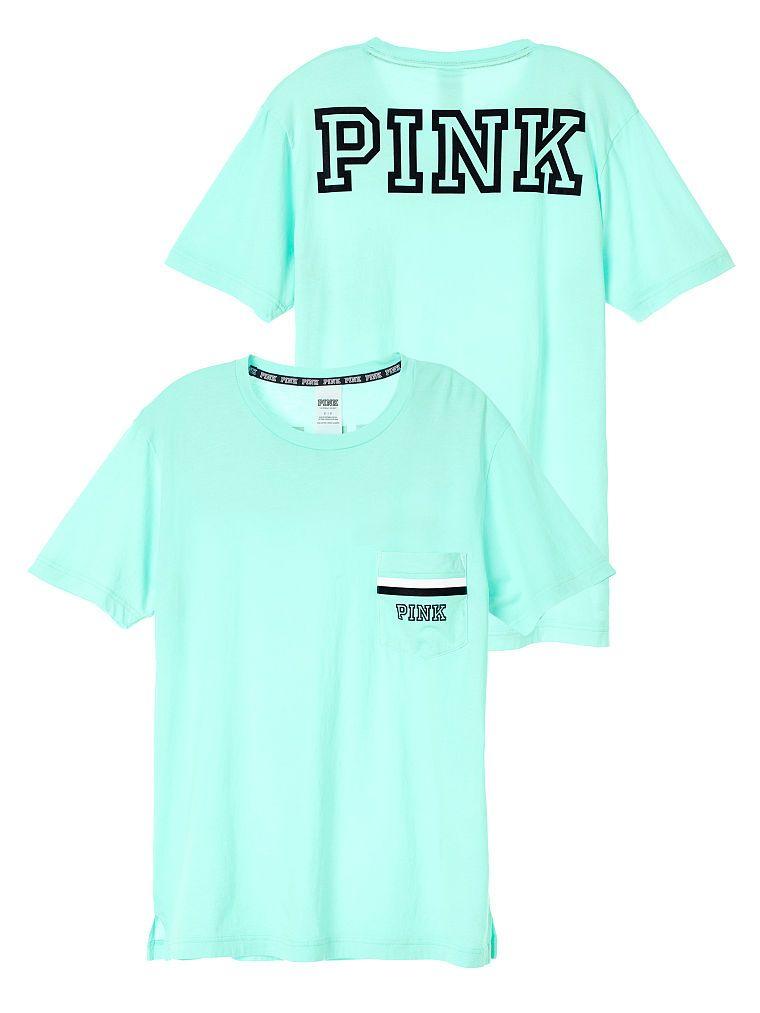 51a79dfc Campus Short Sleeve Tee - PINK - Victoria's Secret | P!NK | Pink ...