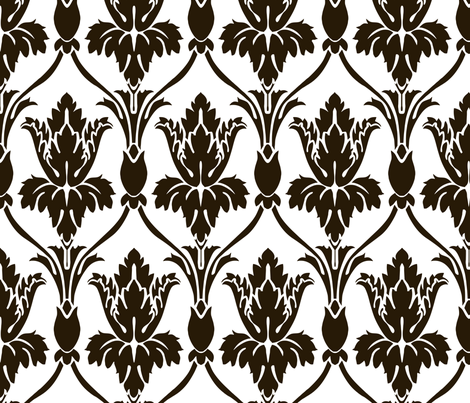 Sherlock Wallpaper White version - Real size! fabric by mellymellow on Spoonflower - custom fabric