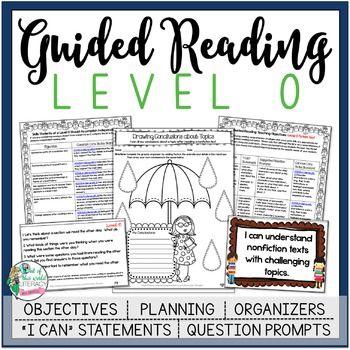 This is a 146 page resource to help teachers plan, instruct, and assess students in a level O guided reading group. It covers 40 teaching fiction, nonfiction, and word work objectives that are all linked to Common Core State Standards. There are tons of printable resources for practical use. Just add the books and the students!!