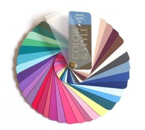 Farbpass Als Farbfächer Zur Farbberatung Des Farbtyps