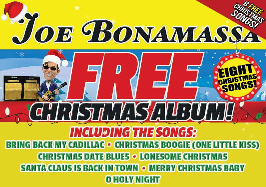 Joe Bonamassa Download 6 Christmas Blues Songs for Free