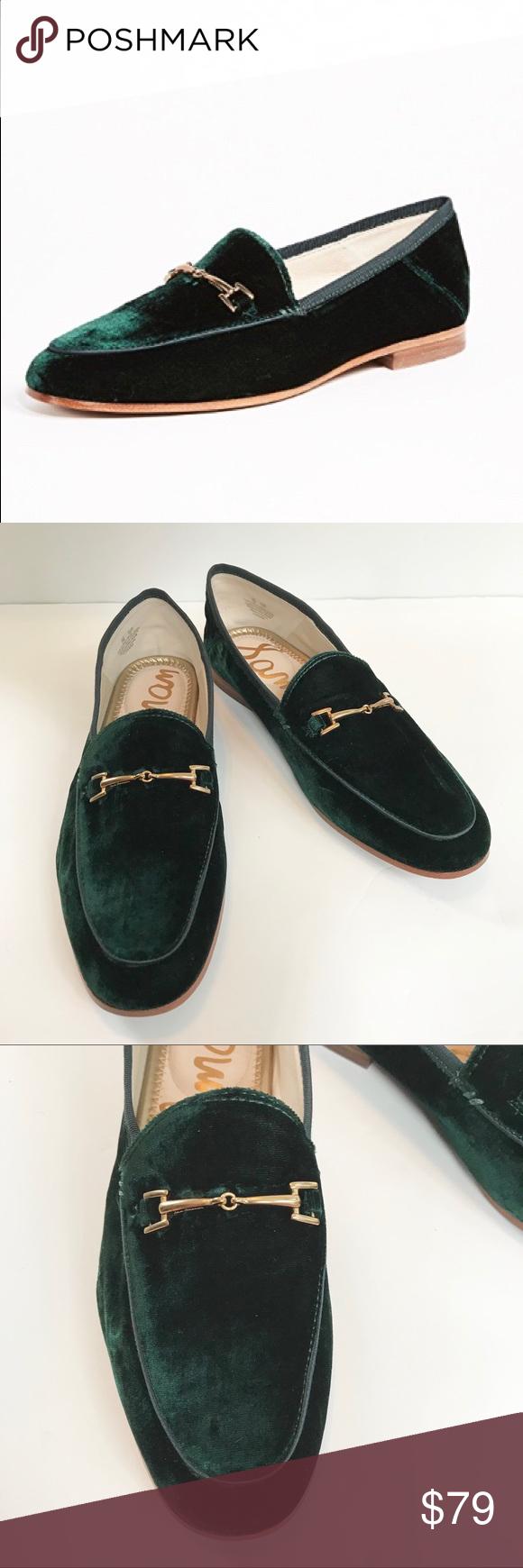 sam edelman loraine loafer black velvet