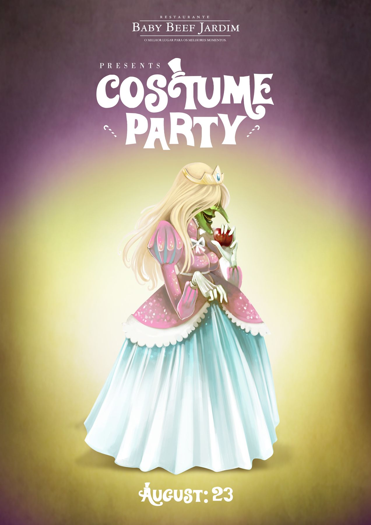 Baby Beef Jardim Costume Party, Witch (avec images
