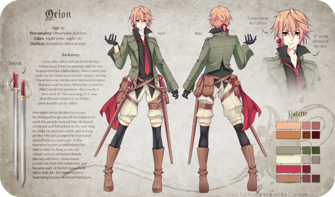 Anime Boy Character Design : Cool male anime characters with high popularity orzzzz