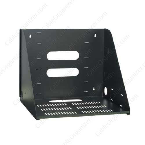 Video Mount Products Vented Wall Shelf Www Cableorganizer