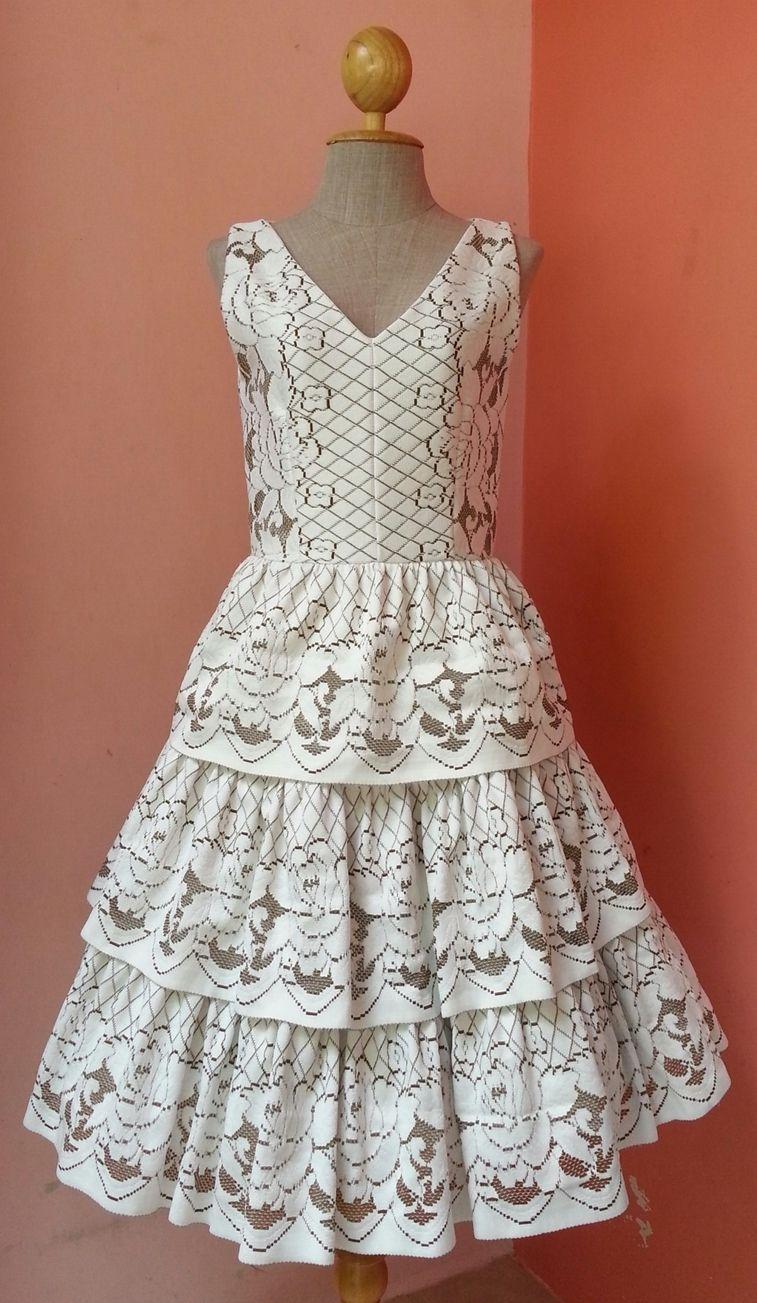 Crochet dress crochet lace dress crochet wedding dress lace prom