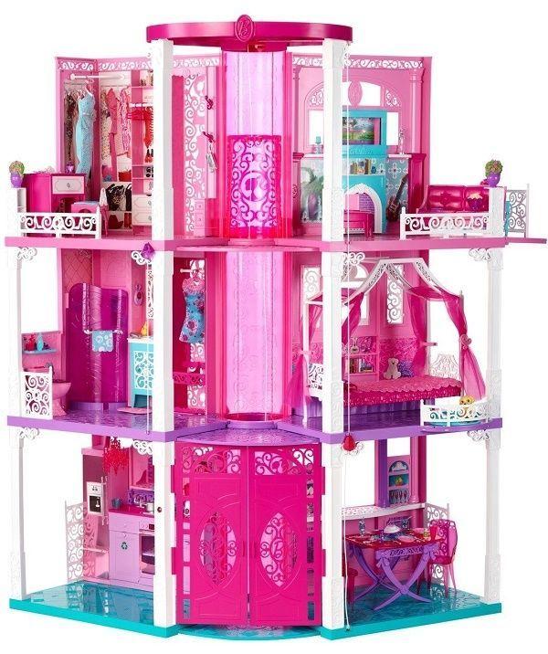 New Mattel Barbie Doll Dream House Dreamhouse 3 Story Deluxe Folding Townhouse Barbie Dream House Barbie Doll House Barbie Dream