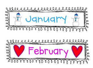free-months of the year printable | My Classroom Ideas | Pinterest ...