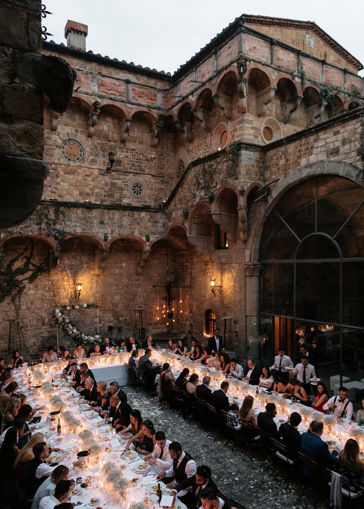 Kayla + Shahem // Castle Wedding, Florence - Katie ...