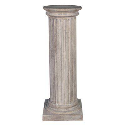 Basil Street Gallery NE60 Classical Greek Fluted Plinth: Large