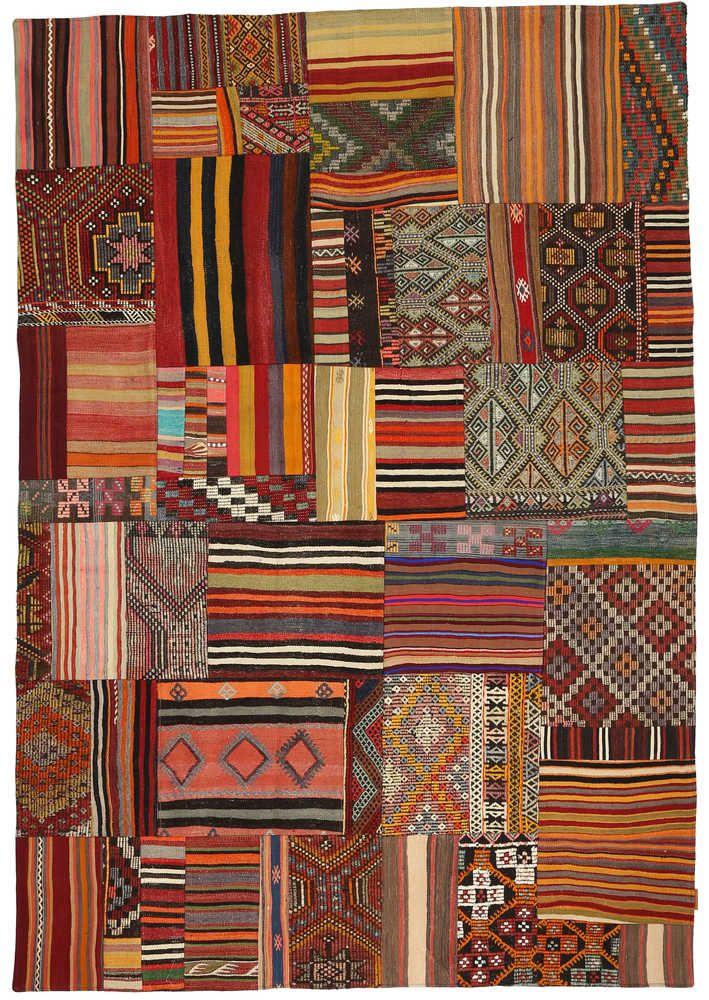 tapis kilim patchwork xcgzd1375 - Tapis Kilim