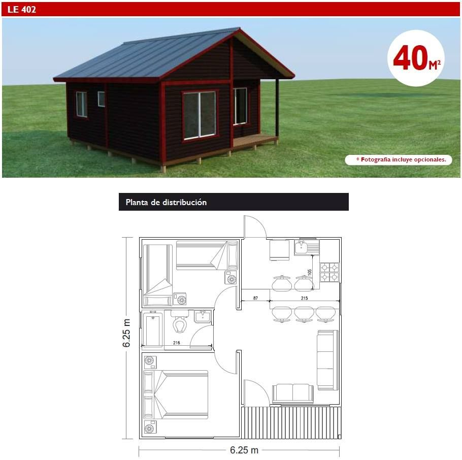Casas De Madera Pequenas Modernas