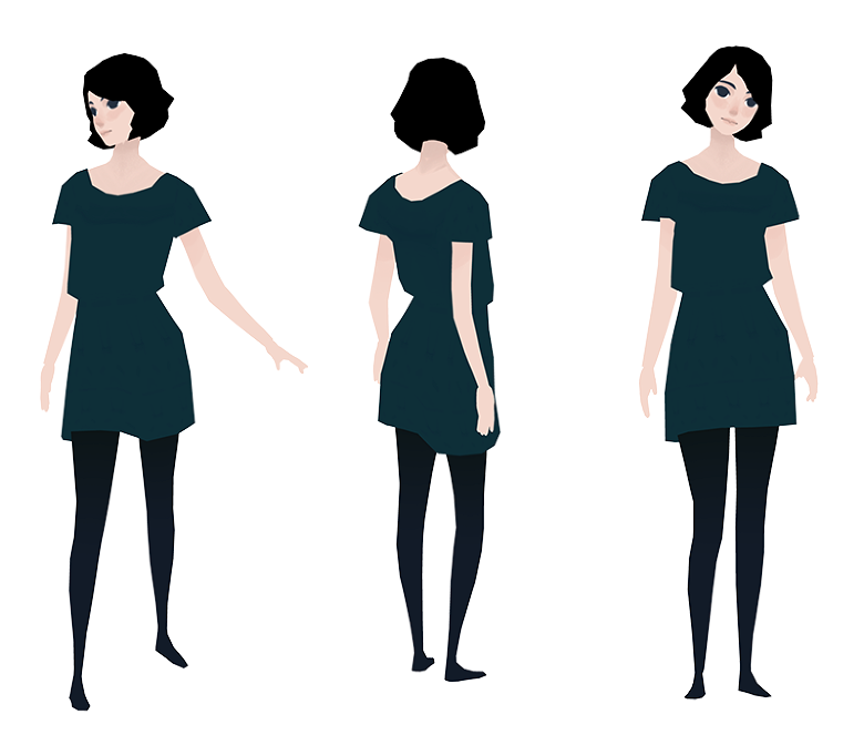 Character Design Simple : Museum of moss heather penn ★ character design