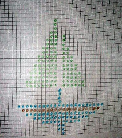 Knitting Chart Or Graph Paper Knitting Miscellaneous Pinterest