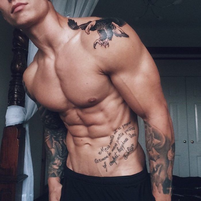 Handsome Tattooed Boy Solo
