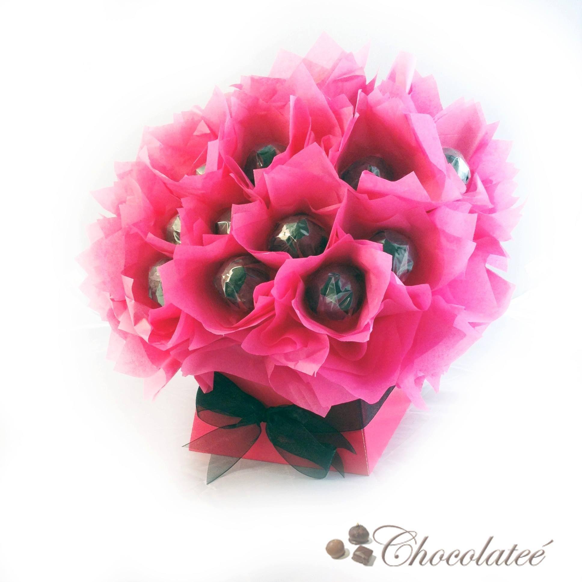Pretty in pink luxury ferrero rocher bouquet httpchocolatee pretty in pink luxury ferrero rocher bouquet httpchocolatee izmirmasajfo Images
