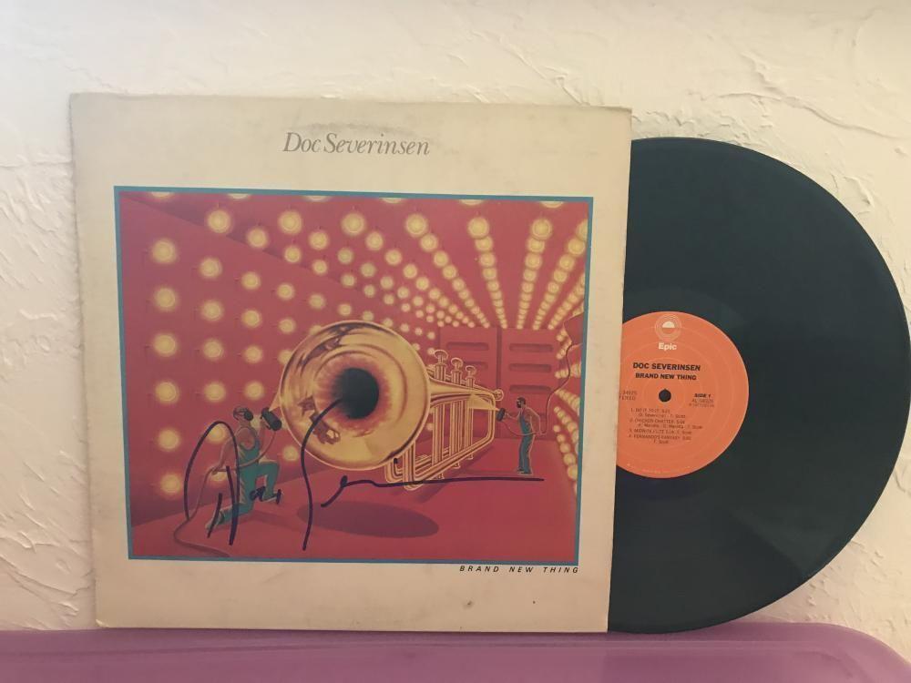 Doc Severinsen Brand New Thing Signed Autographed Vinyl Record Albu Ebay Doc Severinsen Vinyl Records Vinyl