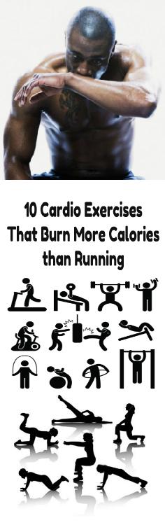 10 Cardio Exercises That Burn More Calories than Running ...