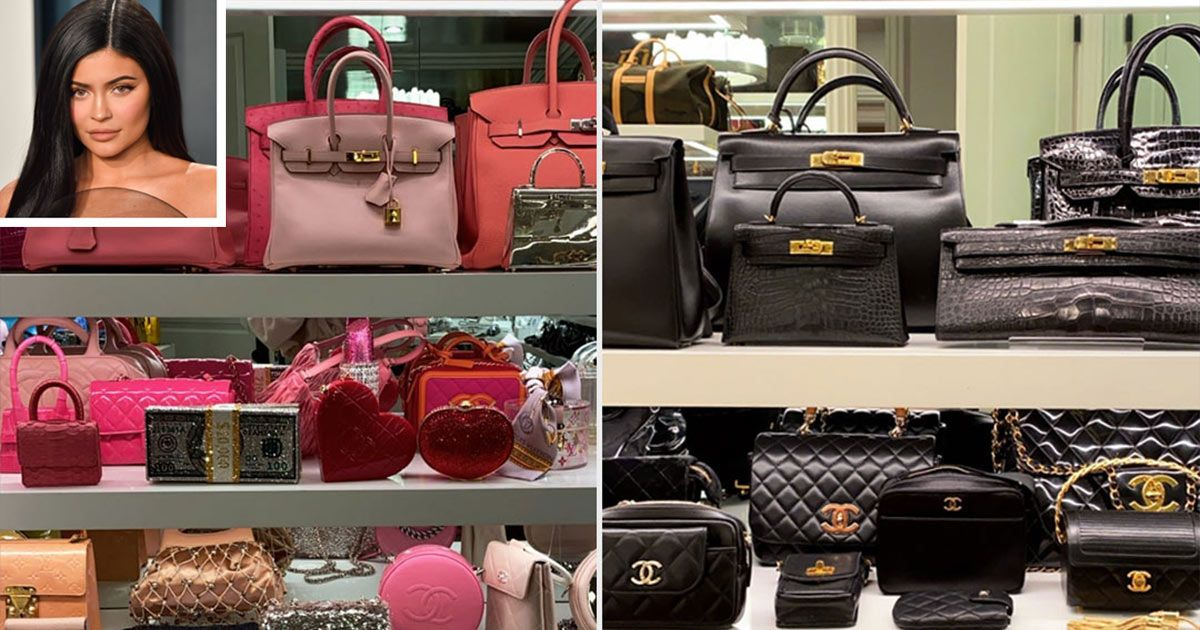 Photo of Kylie Jenner Shows Off Her Huge Handbag Closet Featuring Over 20 Hermès Purses