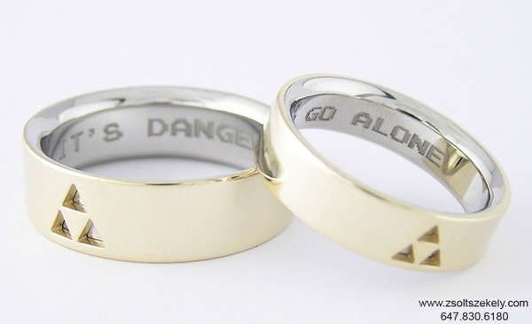 100 Geeky Wedding Ideas Zelda Wedding Zelda Ring Zelda Engagement Ring