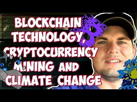 Climate change and cryptocurrency