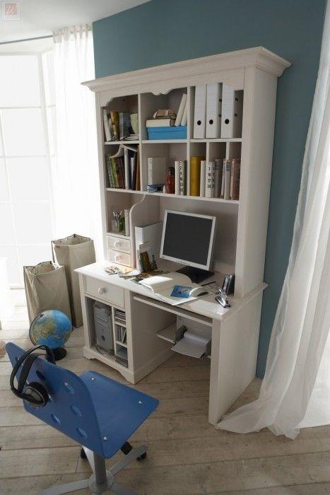 Schreibtisch Kiefer teilmassiv 19-00079 Kiefermöbel Pinterest