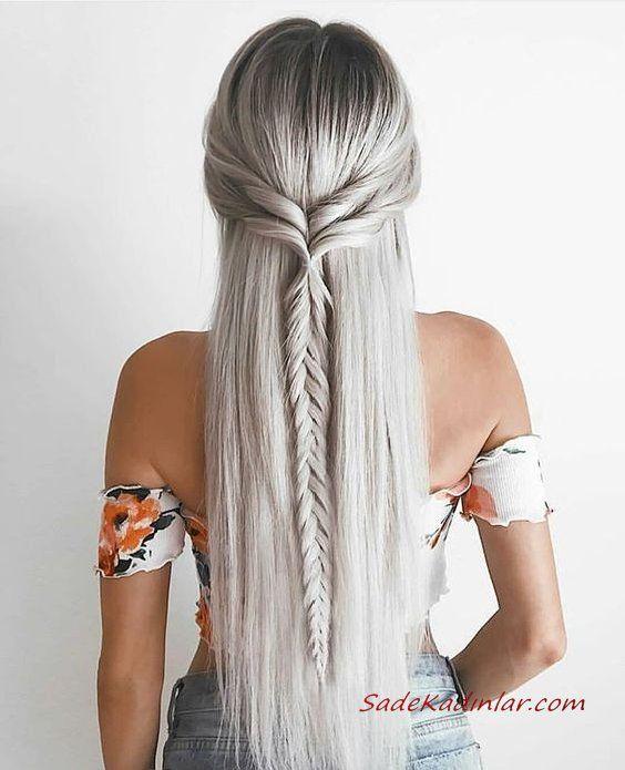 Les coiffures tressées les plus élégantes et glamour de 2020   – Örgü Modelleri…
