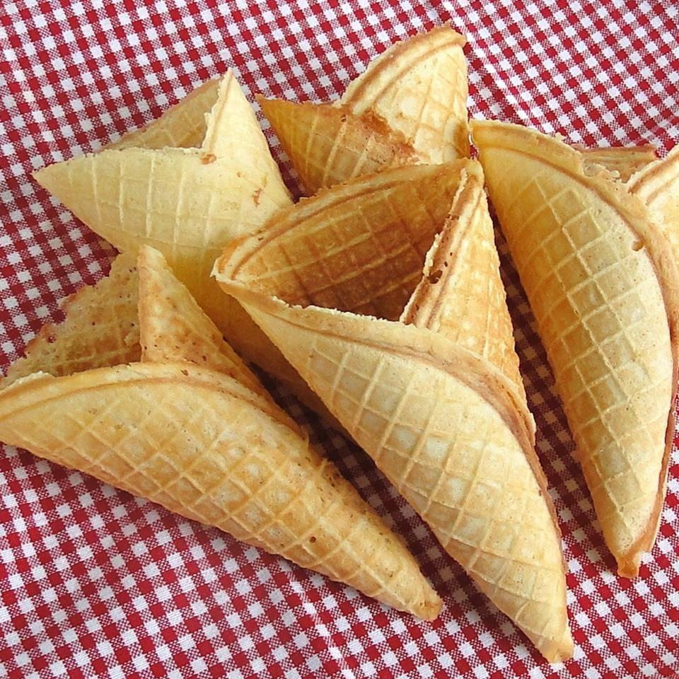 Homemade ice cream cones in 2020 homemade ice cream cone