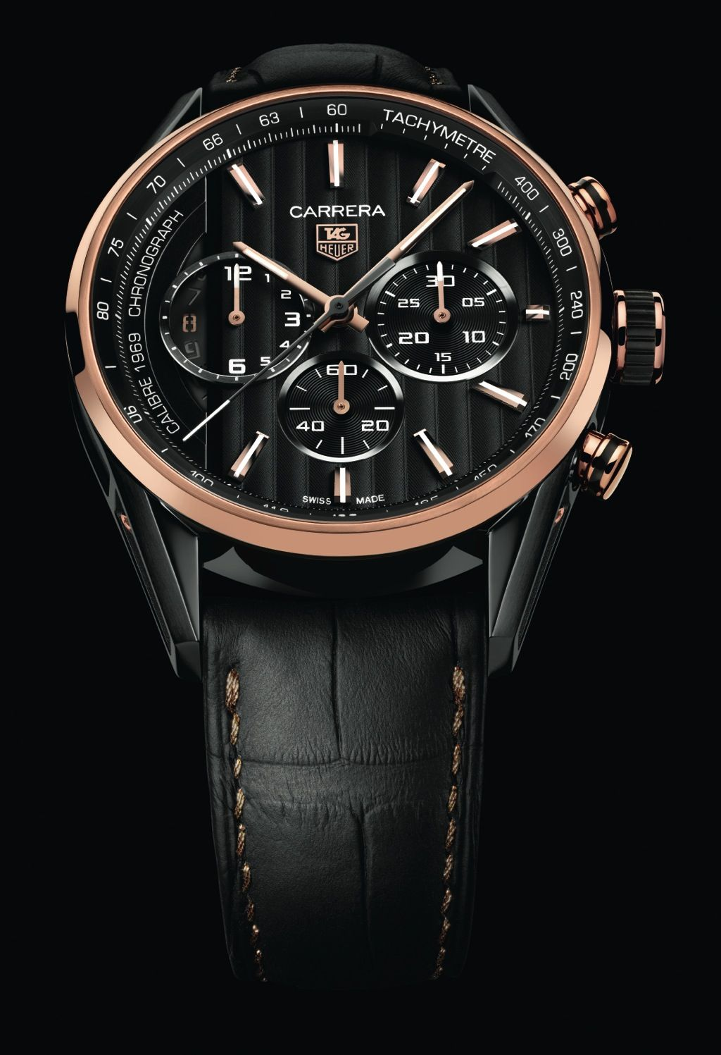 Tag Heuer Carrera Calibre 1969 Pvd Rose Gold Luxe Street