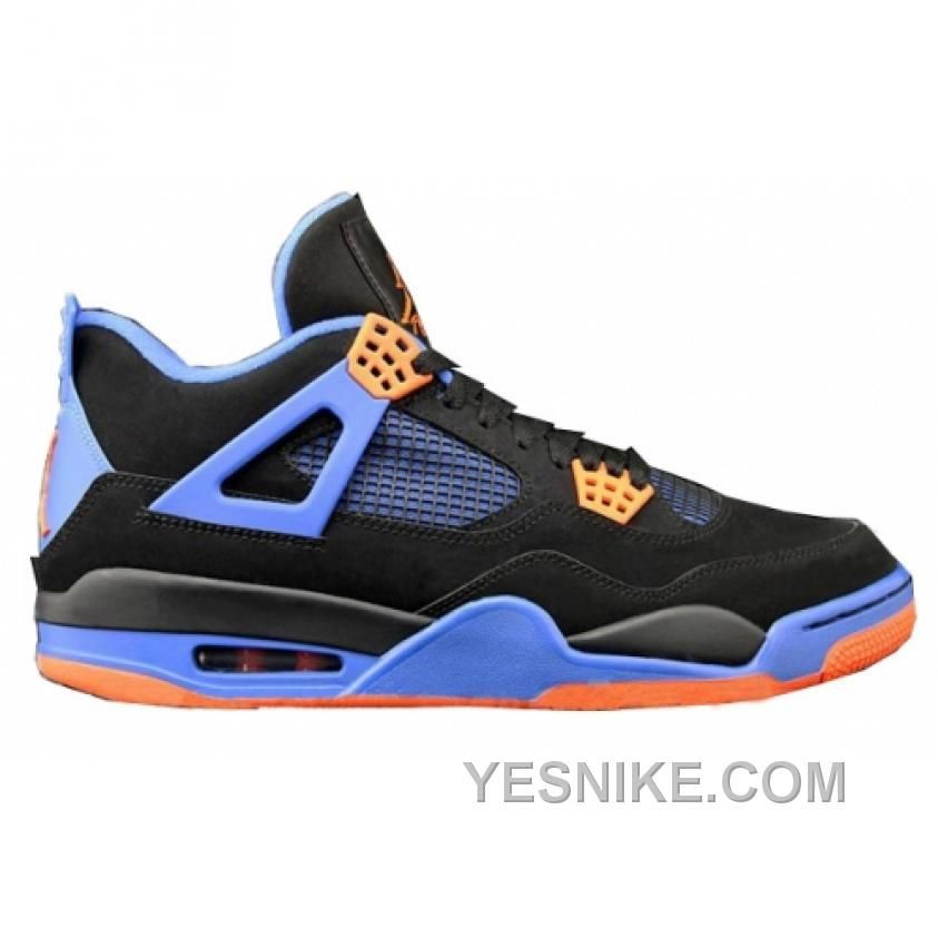 size 40 934b1 9dfc5 air jordan iv 4 retro cavs blacksafety orangegame royal 308497027