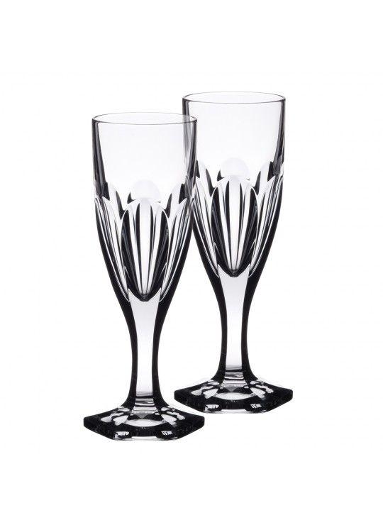 Rosengarten 2er Set Champagnerglas in Geschenkverpackung