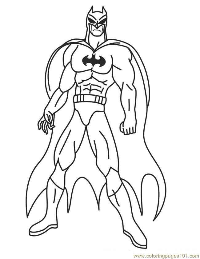 Superhero Coloring Pages Printable Coloring Pages Pinterest