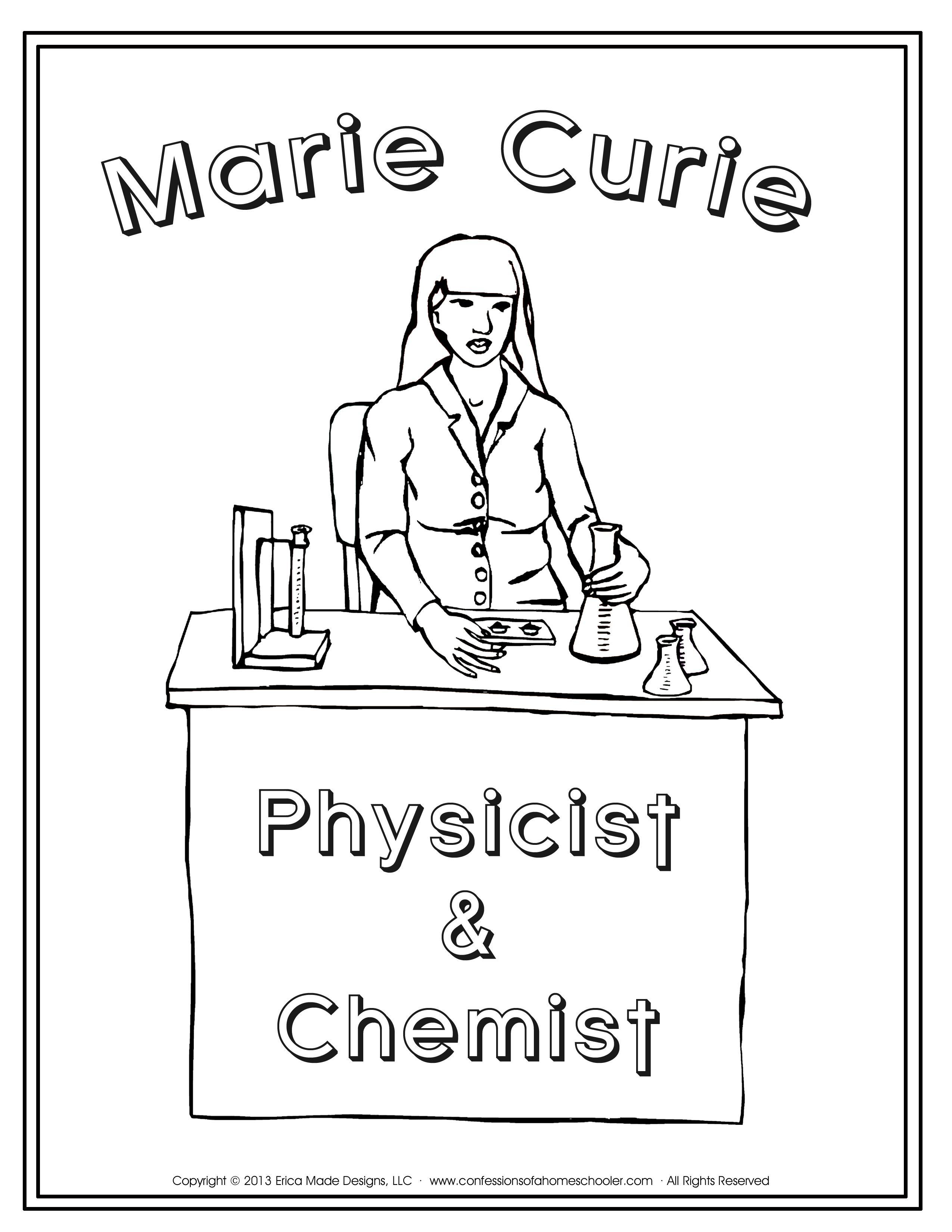 Marie Curie Unit Study