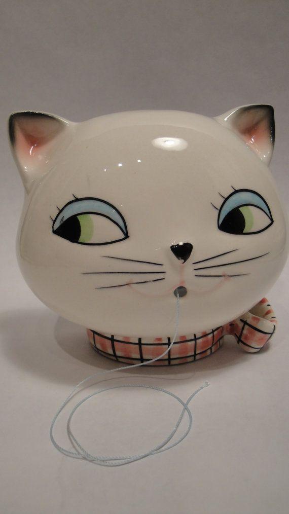 Vintage 1959 Holt Howard Cozy Kitten Kitty Cat by Lifeinmommatone, $25.00