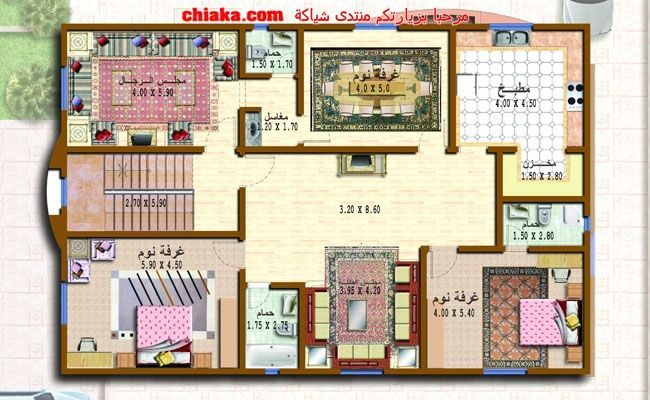 مخطط دوبلكس فلل فلل صغيرة دورين تصميم هندسي فلل صغيرة مخططات هندسية الفلل Design Villa Plan Small Villa