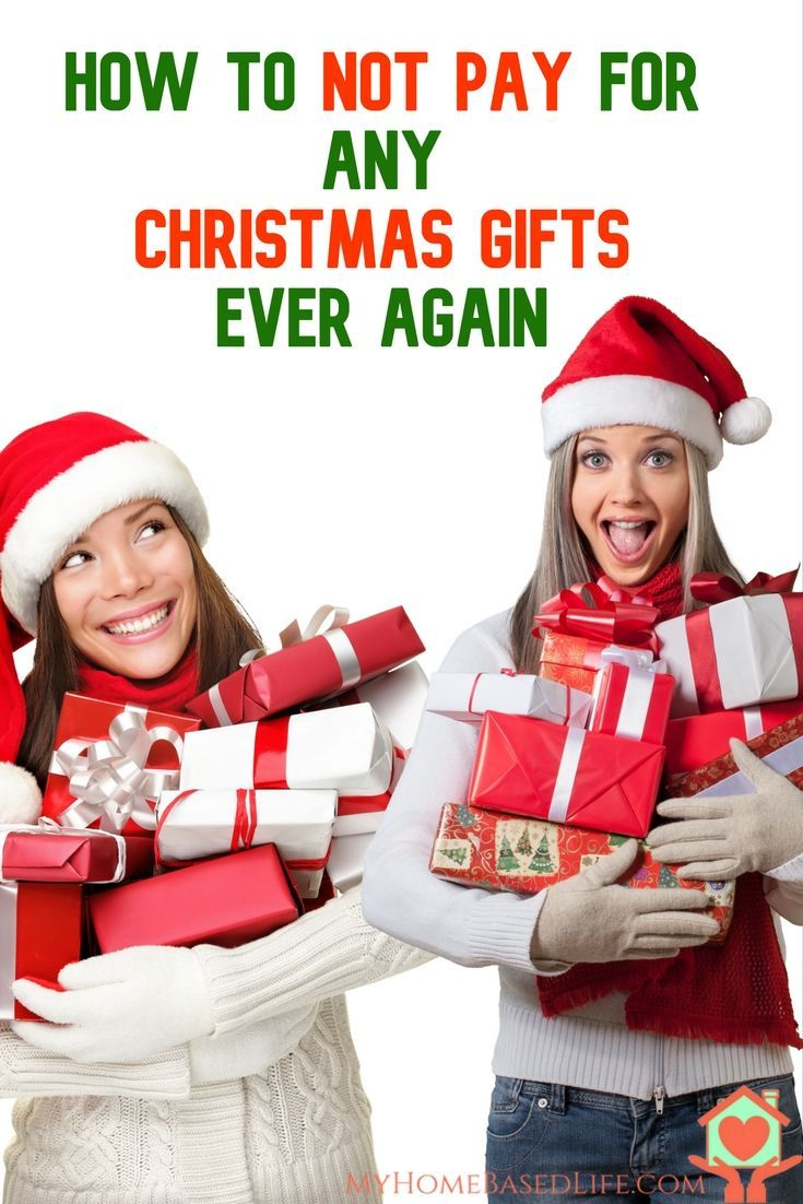 How to NOT pay for ANY Christmas Gifts ever again   Frugal Christmas ...