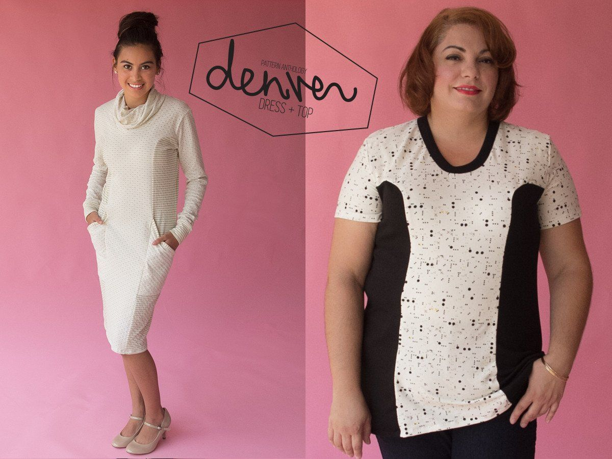 Denver tunic and dress patterns to ponder pinterest sewing