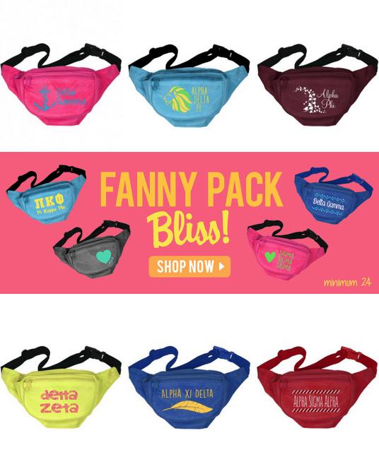 Super Sweet Fanny Pack Spotlight Add A Sugar To Your Fall Bid Day