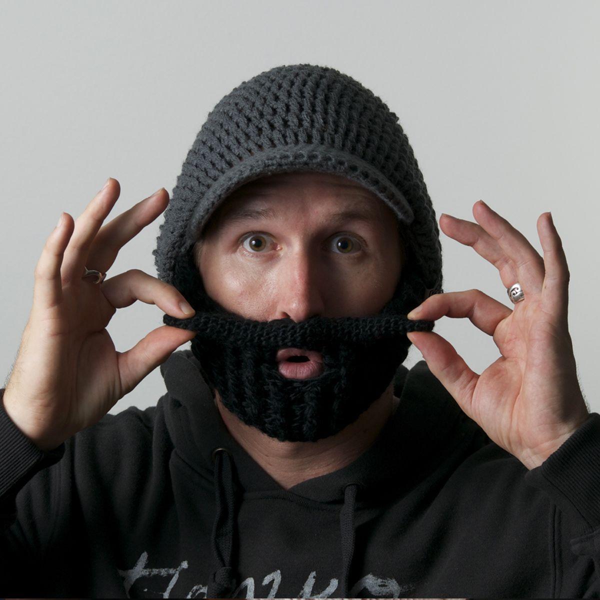 beardo beard hat .. from beardowear.ca (foldaway, detachable and ...